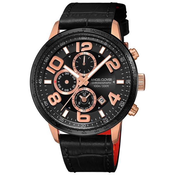 【クーポン利用で1000円OFF】LU44PBK-BL Angel Clover エンジェルクローバー LUCE ルーチェ メンズ 腕時計 国内正規品 送料無料