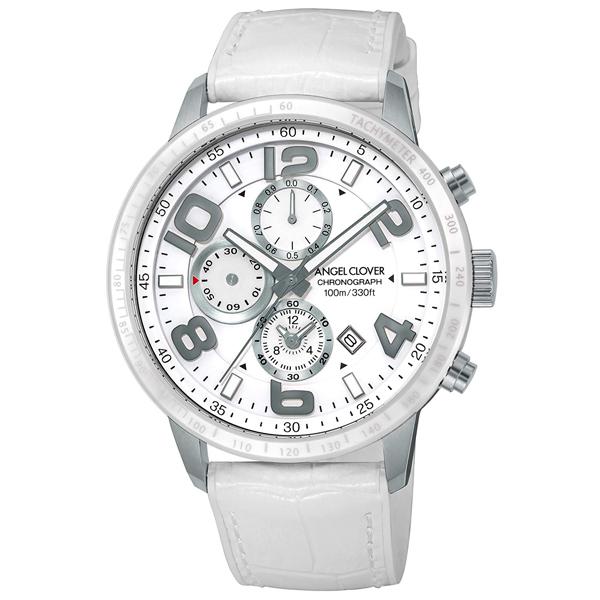 【クーポン利用で1200円OFF】LU44SWH-WH Angel Clover エンジェルクローバー LUCE ルーチェ メンズ 腕時計 国内正規品 送料無料