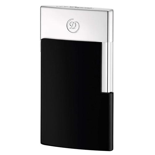 027004E S.T.DUPONT エス テー デュポン E-スリム ブラック&クローム 喫煙具 電子ライター 国内正規品 送料無料