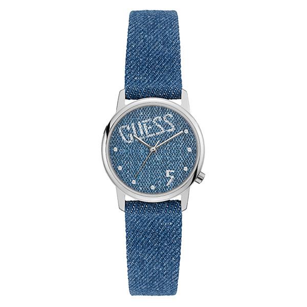 【クーポン利用で1000円OFF】V1017M1 GUESS ゲス ブルー 青 レディース 腕時計 国内正規品 送料無料