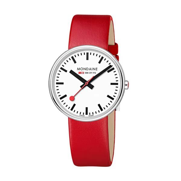 【クーポン利用で1000円OFF】MSX.3511B.LC MONDAINE モンディーン スイス国鉄時計 ミニジャイアント ユニセックス 男女兼用腕時計 国内正規品 送料無料