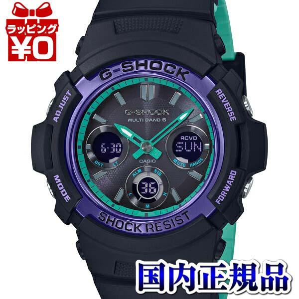 【クーポン利用で800円OFF】AWG-M100SBL-1AJF G-SHOCK Gショック CASIO カシオ ジーショック 電波ソーラー メンズ 腕時計 国内正規品 送料無料