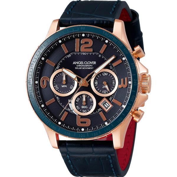 【クーポン利用で2000円OFF】TCS44PG-NV Angel Clover エンジェルクローバー タイムクラフト ソーラー メンズ 腕時計 国内正規品 送料無料 ブランド
