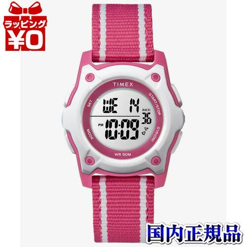 【クーポン利用で400円OFF】TW7C26200 TIMEX タイメックス ピンク キッズ 腕時計 国内正規品