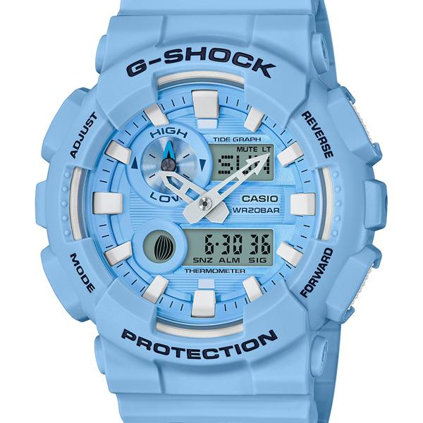 【エントリーでポイント5倍】GAX-100CSA-2AJF カシオ Gショック ジーショック ジーライド CASIO G-SHOCK G-LIDE スポーツライン Gライド ブルー メンズ 腕時計 国内正規品