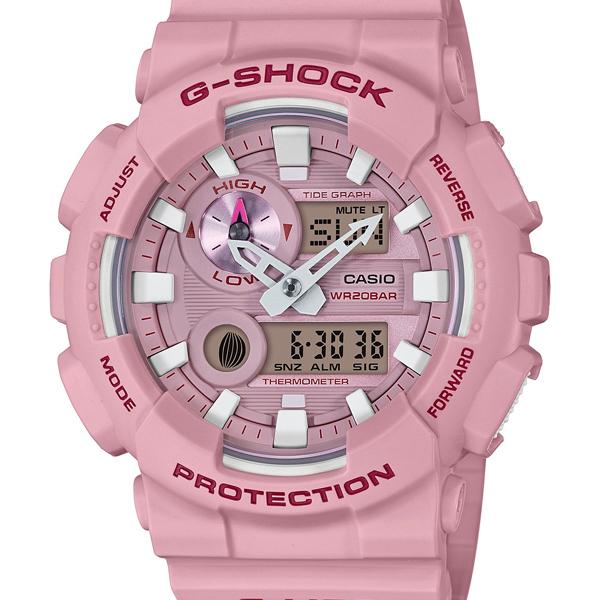 【エントリーでポイント5倍】GAX-100CSA-4AJF カシオ Gショック ジーショック ジーライド CASIO G-SHOCK G-LIDE スポーツライン Gライド ピンク メンズ 腕時計 国内正規品