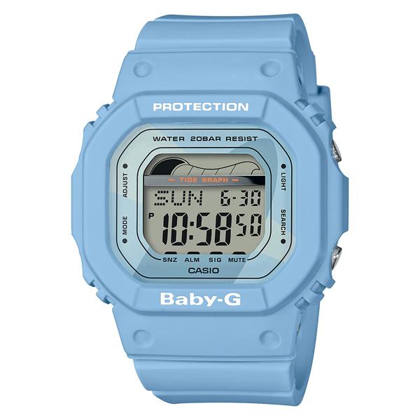 【クーポン利用で300円OFF】BLX-560-2JF カシオ ベビージー BABY-G  CASIO ベイビージー タイドグラフ 青 ブルー レディース 腕時計 国内正規品