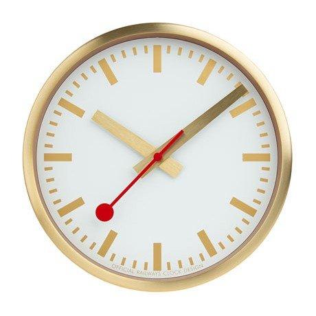 【クーポン利用で2000円OFF】A990.CLOCK.17SBG MONDAINE モンディーン スイス国鉄時計 ウォールクロック ピュア 25cm 掛時計 国内正規品 送料無料 ブランド