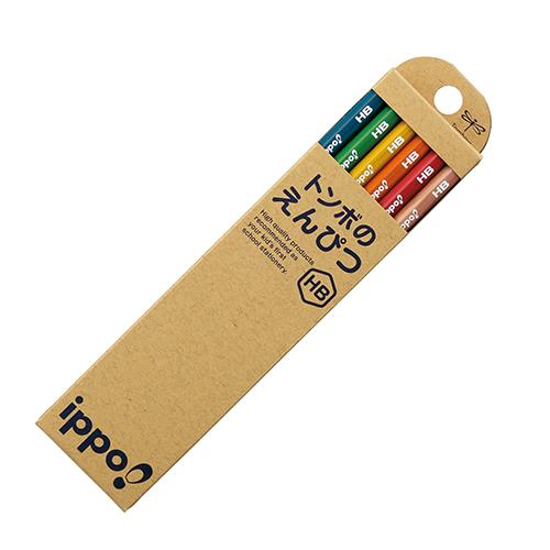 おすすめ 金箔押しお名入れ無料 トンボ鉛筆かきかた鉛筆ippo ネコポス発送できます 超目玉