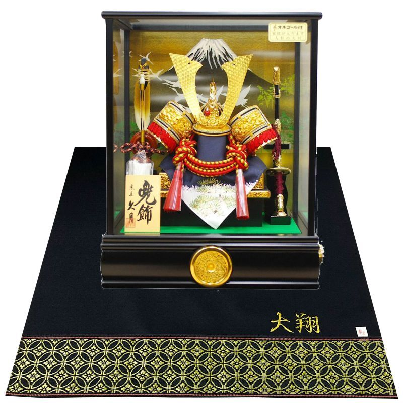 久月 五月人形 兜飾り 特別セール品 8号兜ケース飾り 卸直営 兜飾 K51006