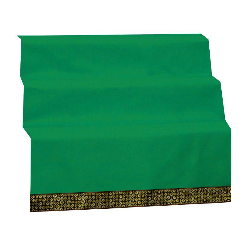 【柄が選べる】「敷折織」 五月人形用緑毛氈(緑毛せん)(緑もうせん) 三段飾り45号 [幅150×奥行き230cm]