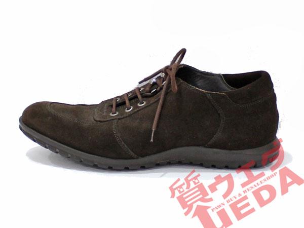 【栄】【SERGIO ROSSI】セルジオロッシ/ローファー/約24.5cm/スエード/ブラウン/シューズ/メンズ/靴/茶/レザー【中古】