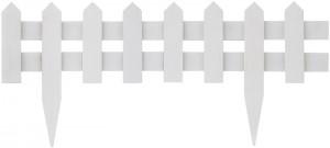 【送料無料】花壇フェンス600ホワイト FBF-600W 10枚セット