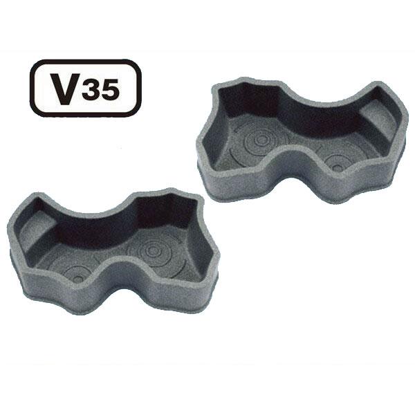 タカラ工業 みかげ調プラ池 V35