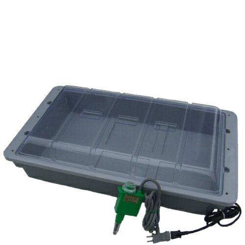 発芽育苗器 菜友器 ( サーモ付 ) PG-30G / 家庭用 サーモ 水耕 ドーム 温室 代引き不可