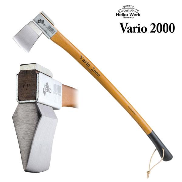 【送料無料】 ヘルコ 薪割り 斧 Vario2000 ヘビースプリッティングアックス VR-7 アックス 薪 薪割り斧 焚き火 手動 薪ストーブ キャンプ アウトドア 焚き付け
