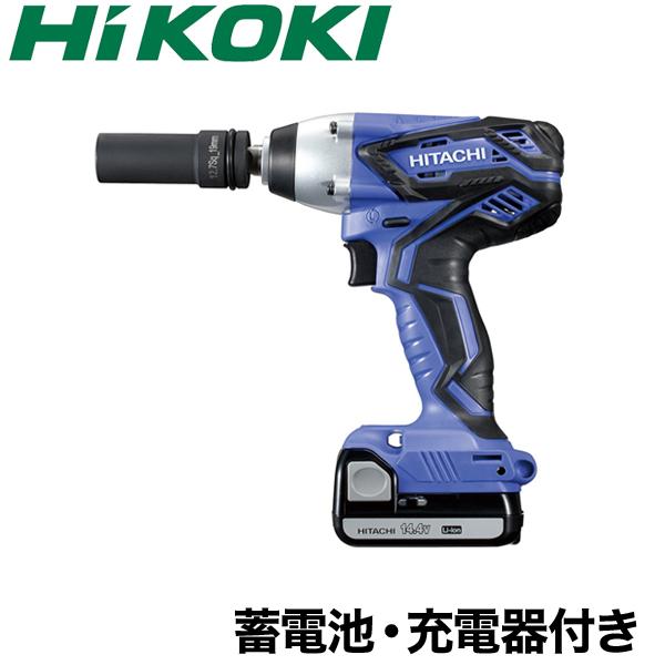 【送料無料】【HiKOKI】 コードレス インパクトレンチ FWR14DGL(LEGK) 電動 レンチ インパクト 本体 バッテリー 充電器 付 日立工機