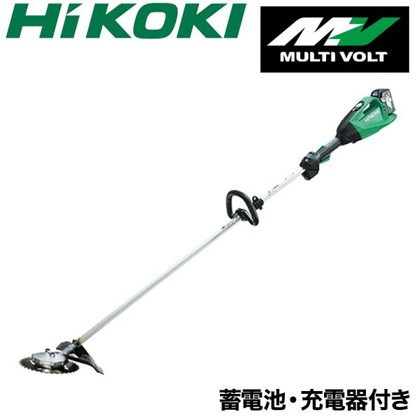 【バッテリー2個/充電器セット】【HiKOKI】 充電式 刈払機 CG36DA(2XP)(L) ループハンドル 草刈機 草刈り機 本体 日立工機