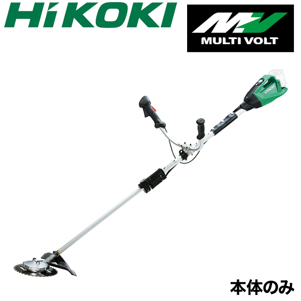 【送料無料】【HiKOKI】 充電式 刈払機 CG36DTA(NN) 伸縮式 草刈機 草刈り機 本体のみ 日立工機