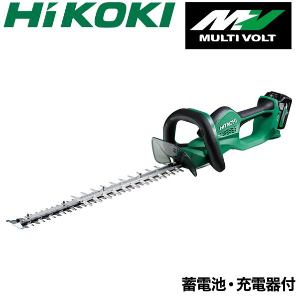 【バッテリー/充電器セット】【HiKOKI】 充電式 ヘッジトリマー CH3656DA(XP) ヘッジトリマ バリカン 本体 日立工機