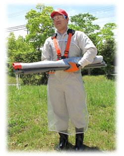 【送料無料】 石飛ガード ネットのみ 2×2m 飛散防止 飛散ガード 草刈作業 三陽金属 飛び石 ネット 軽量