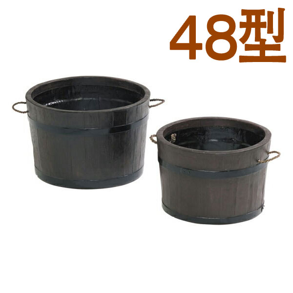 【送料無料】【大和プラスチック】 モルトプランター 48型 大型 FRP プランター 深型