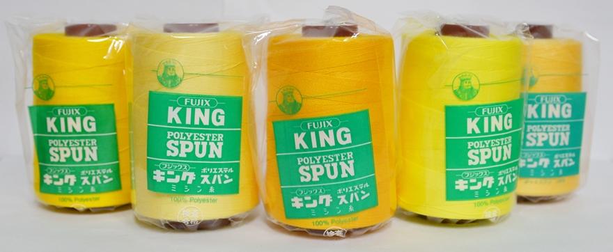 ☆フジックス !超美品再入荷品質至上! キングスパン30 2000m色見本1 白~295まで 国際ブランド