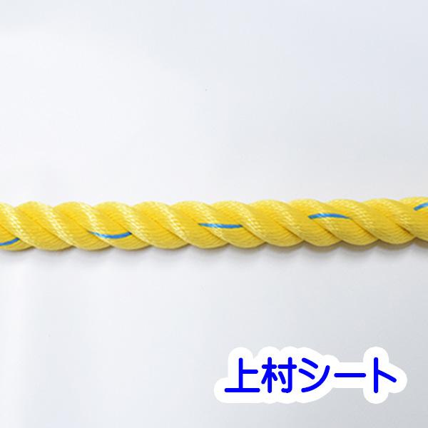 1巻売り 親綱ロープ のり面ロープ スーパーセーブロープ 直径18mm×200m
