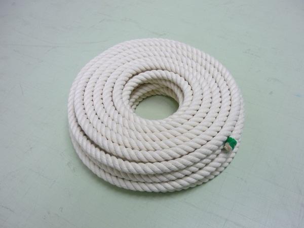綿ロープ 直径18mmx長さ30m