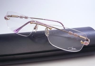 カザール メガネフレーム CAZAL190-657度付 メガネ 眼鏡 伊達メガネ