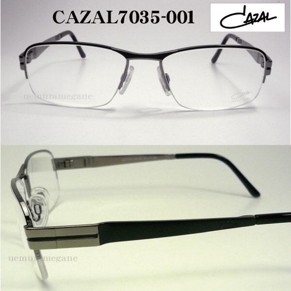 e1deefe56a86 カザール メガネフレーム 2013 CAZAL7035-001 度付 メガネ 眼鏡 伊達メガネ【P08Apr16】