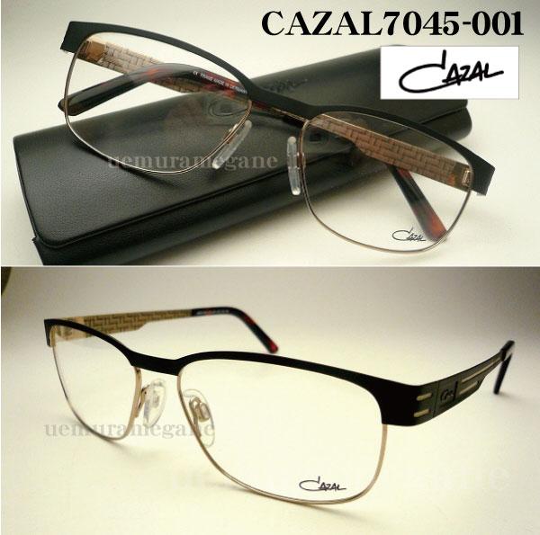カザール 2014 メガネフレームCAZAL7045-001度付 メガネ 眼鏡 伊達メガネ【P08Apr16】
