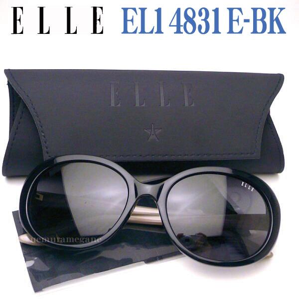 エル ELLE サングラス EL14831E-BK 【02P18Jun16】