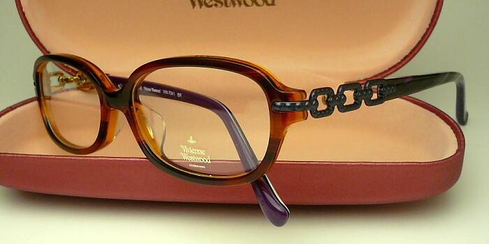 1.60薄型レンズ付きセット VW-7041ヴィヴィアン ウエストウッド2014年7月モデル VW7041度付 最安値挑戦 毎日続々入荷 伊達メガネ メガネ 眼鏡