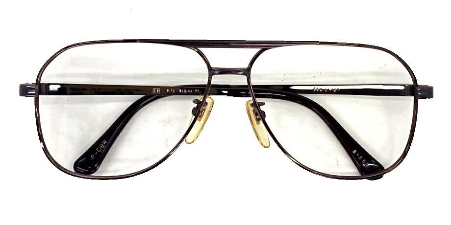 ビンテージ 眼鏡 めがね 度なし 度付 度入り 伊達メガネ 好評 ヴィンテージ メガネフレーム オート 現品限り 百貨店 チタン S-352 メタル 58ミリ
