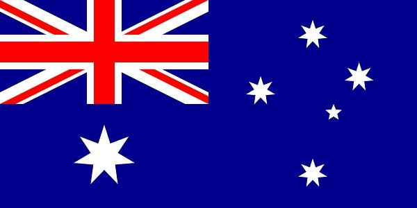 オーストラリア 国旗 アクリル生地 120x180cm