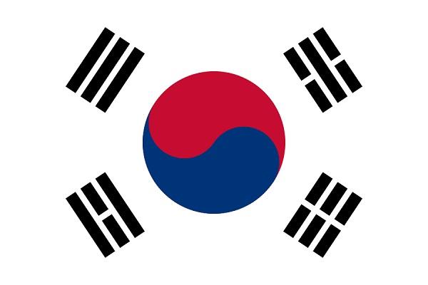 大韓民国 韓国 国旗 太極旗 アクリル生地 120x180cm