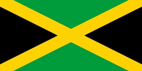 ジャマイカ 国旗 アクリル生地 120x180cm