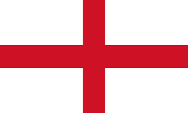 イングランド 国旗 アクリル生地 120x180cm