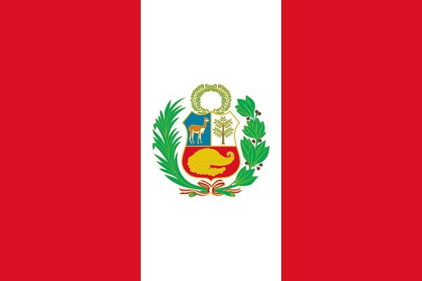セール 登場から人気沸騰 ペルー 国旗 アクリル生地 オリジナル 90x135cm