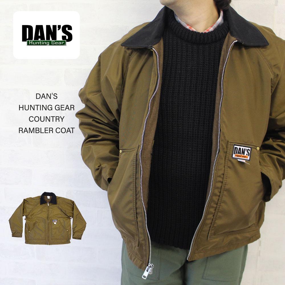 DAN'S HUNTING GEAR ダンズハンティングギア COUNTRY RAMBLER COAT カントリーランブラーコート