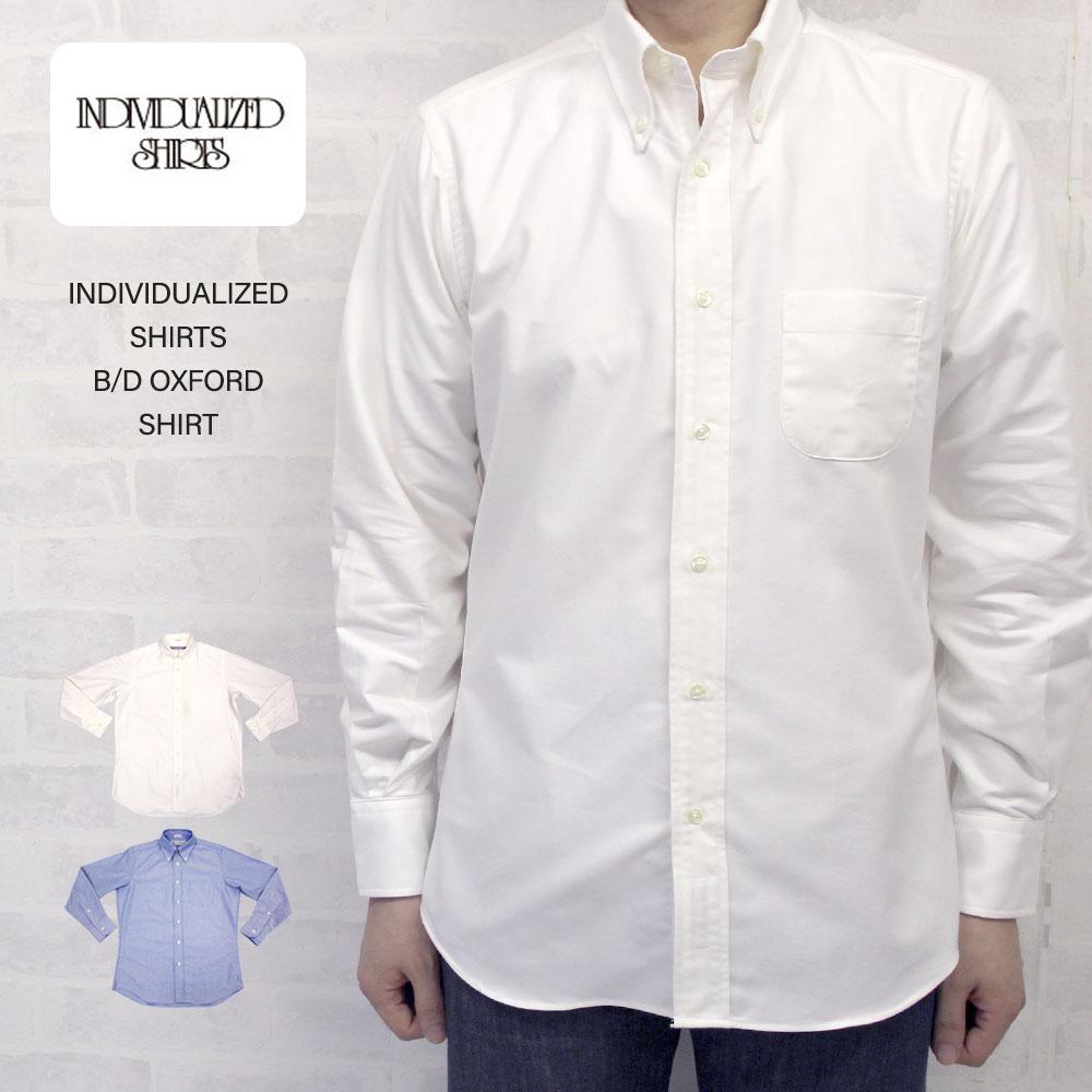 INDIVIDUALIZED SHIRTS インディビジュアライズド シャツ オックスフォード B/Dスタンダードフィットシャツ (レガッタ OXFORD)/INDIVIDUALIZED SHIRTS インディビジュアライズド シャツ オックスフォード B/Dスタンダードフィットシャツ (レガッタ OXFORD)