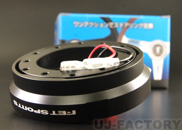 車検対応! ★超薄型25mm/車検対応!FETクイックリリース★ジェネレーション3 ジェネレーション3 QRS3