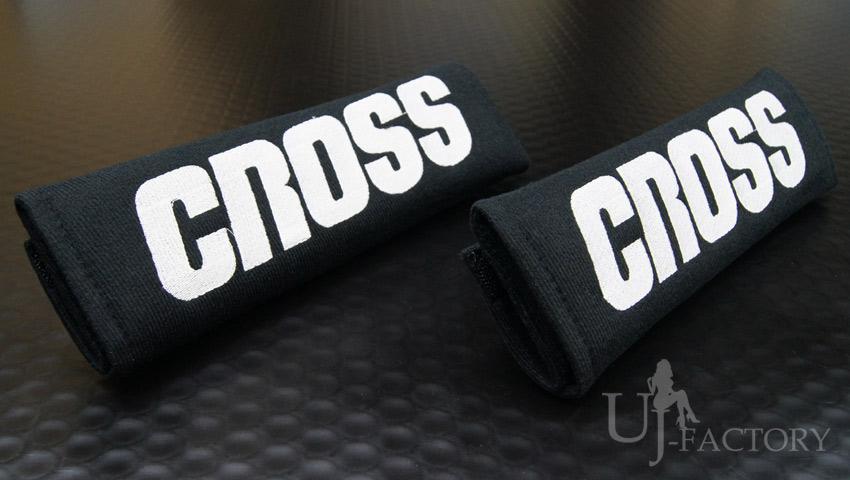 クリックポスト可 TAKE OFF テイクオフ ブラック 新品未使用正規品 SALE開催中 シートベルトパッド CROSS 左右セット