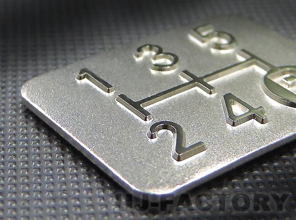 ★供镀金3D变换模式铭牌★<5速手动变速车使用的>高质量的国内产品! 变换面板