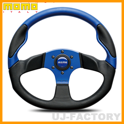 【正規品】MOMO ステアリング COMMANDO 2 ブルー(コマンド2 ブルー) 350mm 青