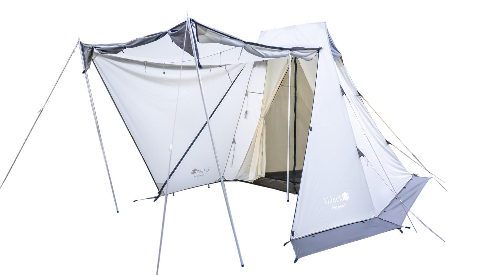 UJack(ユージャック) サーペントテント ソロ ワンポール テント 1人用 2人用 Serpent