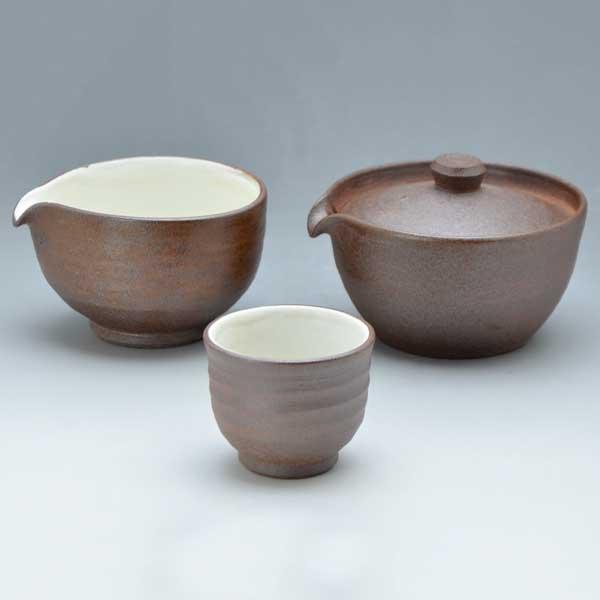 【 送料無料 】 京焼 清水焼 京 焼き 京焼き 小茶器揃 焼〆 やきしめ