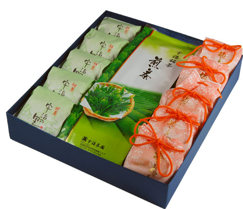 お菓子 スイーツセットギフト 梅・宇治茶セット