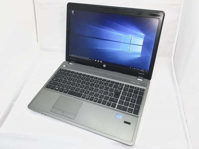 【中古】[ hp ] ProBook 4540s / Core i3 / 2.50GHz / 15.6インチワイド / DVD-Multi / ノートパソコン / 中古 / バッテリ欠品特価品